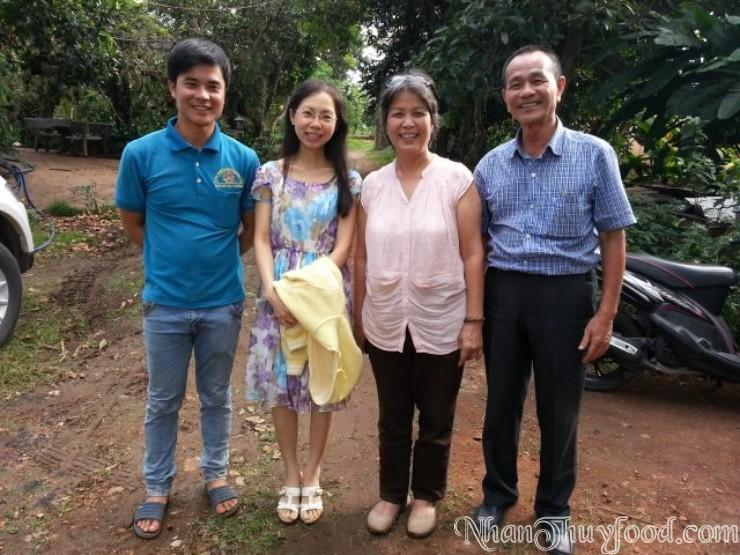 Cô Giáo Vy Lộc yêu tự nhiên, thăm vườn hữu cơ và rất giỏi về Thực dưỡng