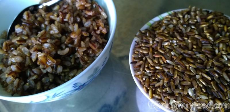 gạo Tím, loại gạo có nhiều chất dinh dưỡng nhất trong bảng màu thực phẩm gạo, có tác dụng chống ung thư, kháng viêm, tăng cường sức khỏe!