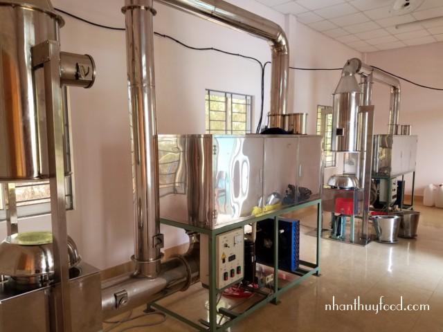 hệ thống máy sấy dừa bằng khí lạnh