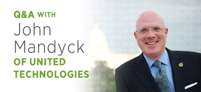 John Mandyck, giám đốc phát triển của Tập đoàn kỹ thuật và vận chuyển đông lạnh United Technologies