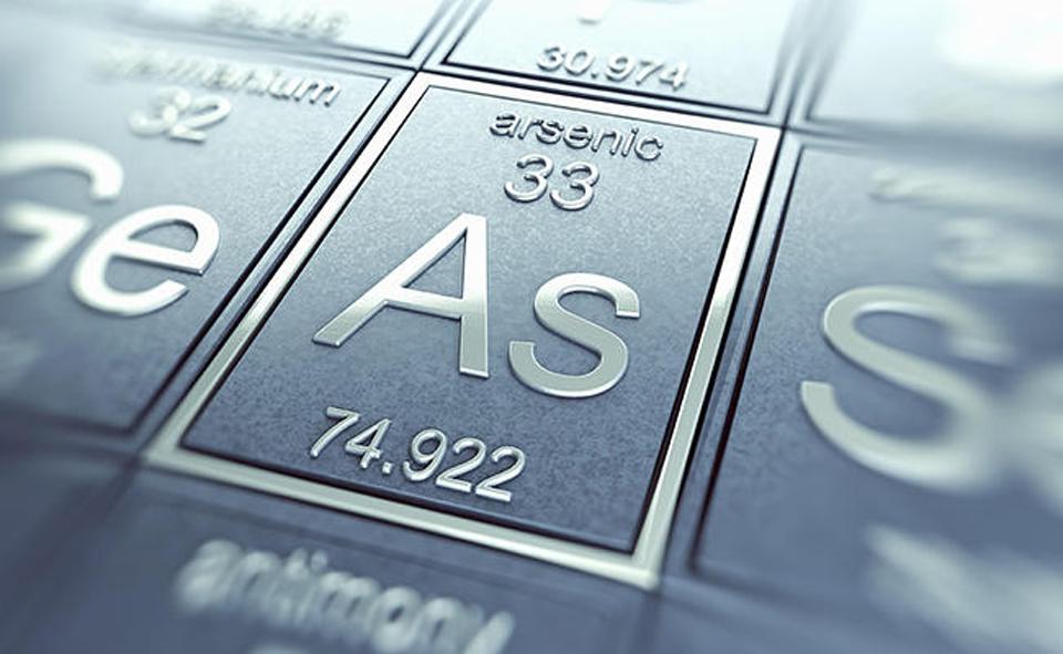 Thông tin của Asen trong bảng nguyên tố hoá học