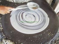 Bánh tráng dừa Tam Quan loại không gia vị.