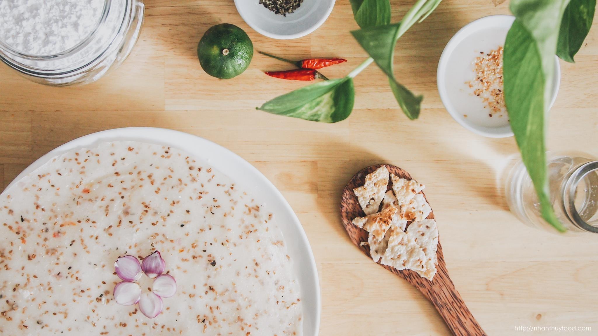 bánh tráng dừa Nhân Thuỳ, Tam Quan, Bình Định