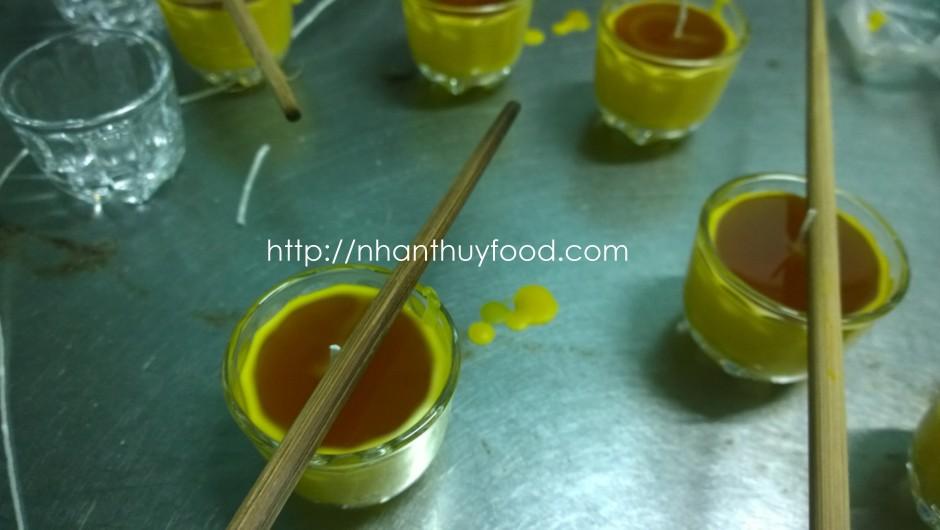 Nến sáp ong rừng tự nhiên