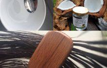 Dưỡng tóc với dầu dừa là bí quyết từ xa xưa
