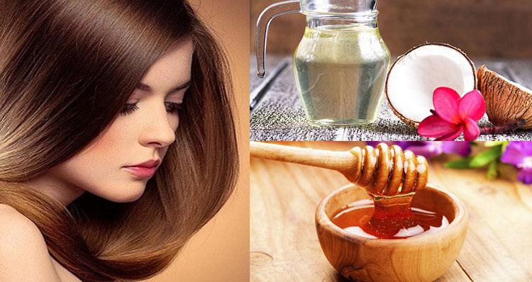 Kết hợp dầu dừa với mật ong và một số nguyên liệu khác giúp chăm sóc tóc