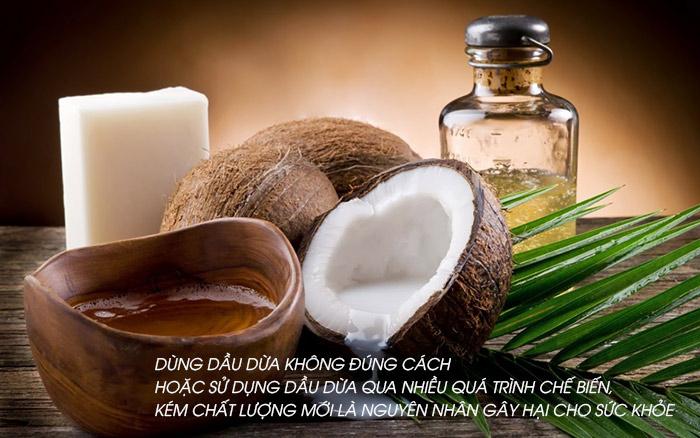Phải lựa chọn dầu dừa chất lượng mới có lợi cho sức khỏe