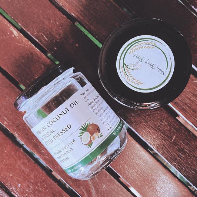 Sản phẩm dầu dừa ép lạnh 200ml