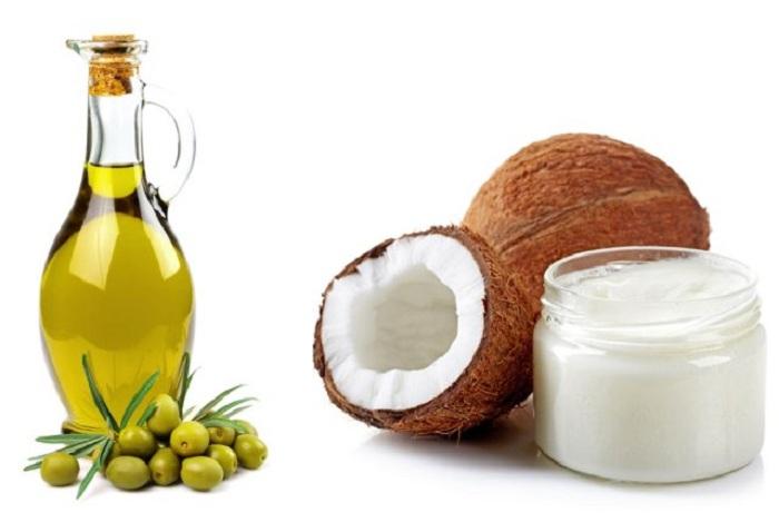 Dầu dừa và dầu Olive