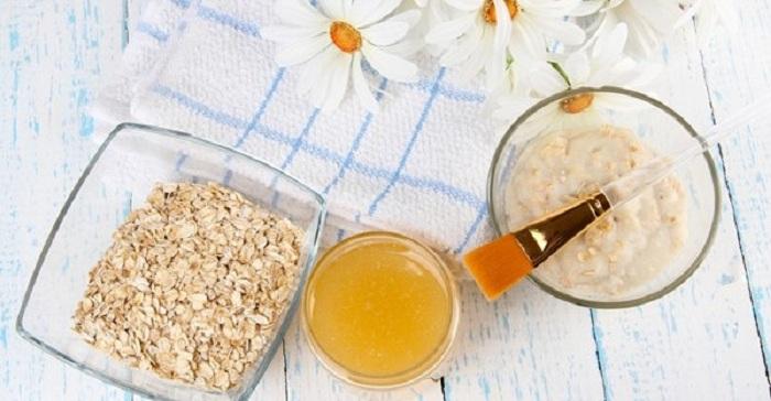 Chữa chàm bằng dầu dừa và yến mạch