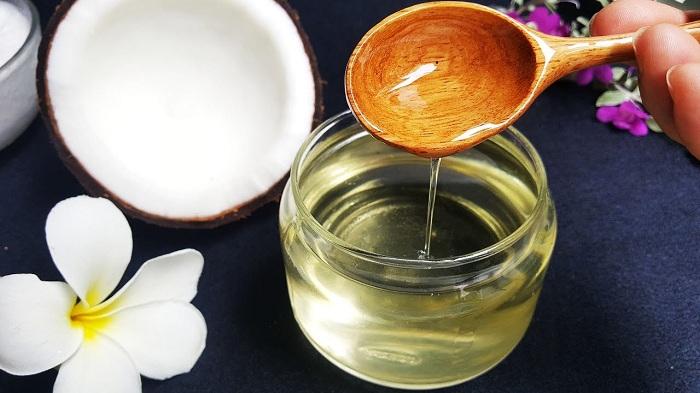Trang thái lỏng của dầu dừa