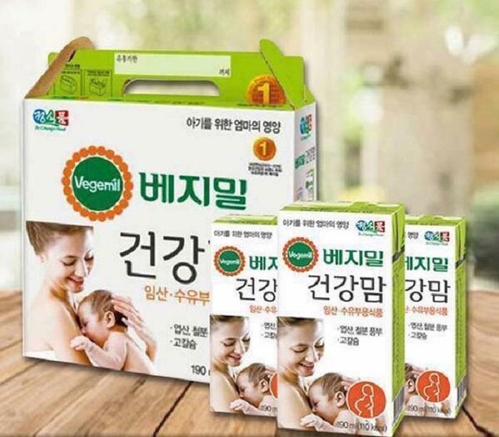 Vegemil là thương hiệu sữa hạt hàng đầu Hàn Quốc