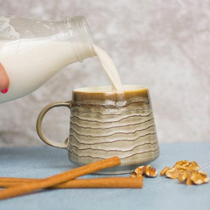 Ly sữa hạt óc chó thơm ngon và bổ dưỡng