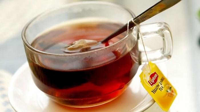 Lọc trà lipton cho ra hết chất